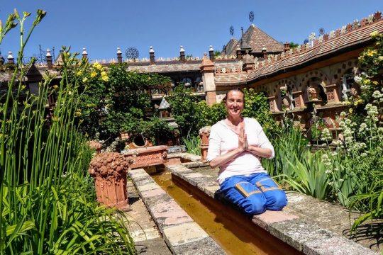 Yoga & meditation at the Secret Gardens