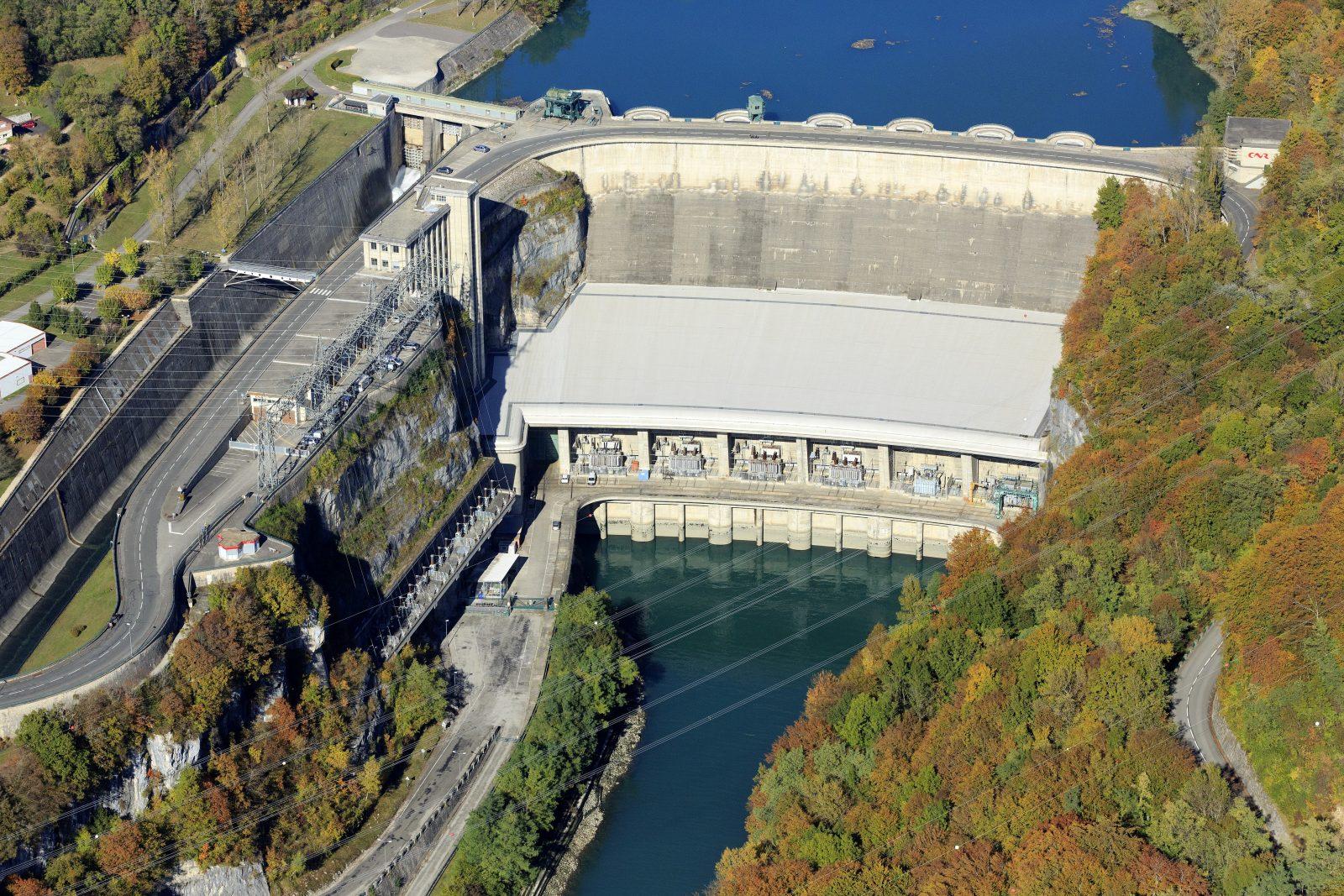 Barrage-centrale de Génissiat