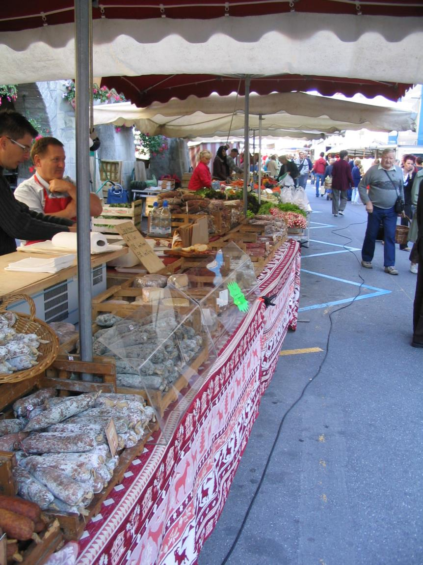 Marché Rumilly