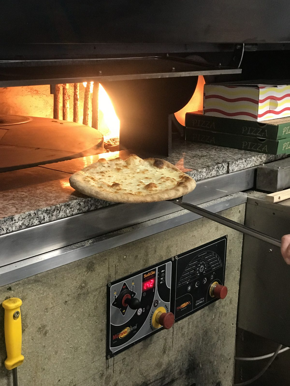 Pizzeria à l'imprévu