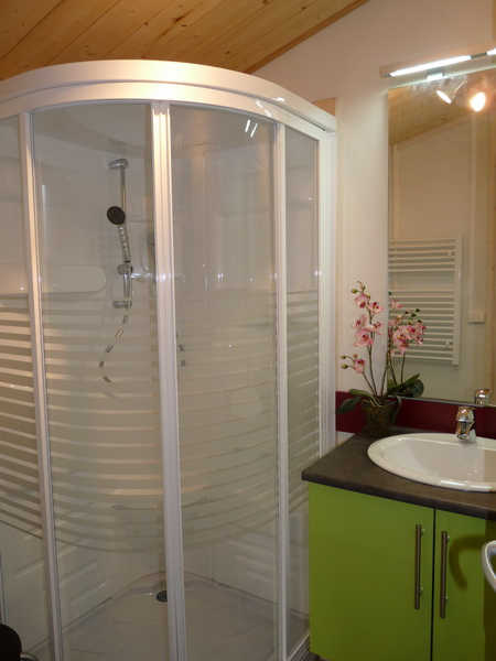 salle d'eau des chalets