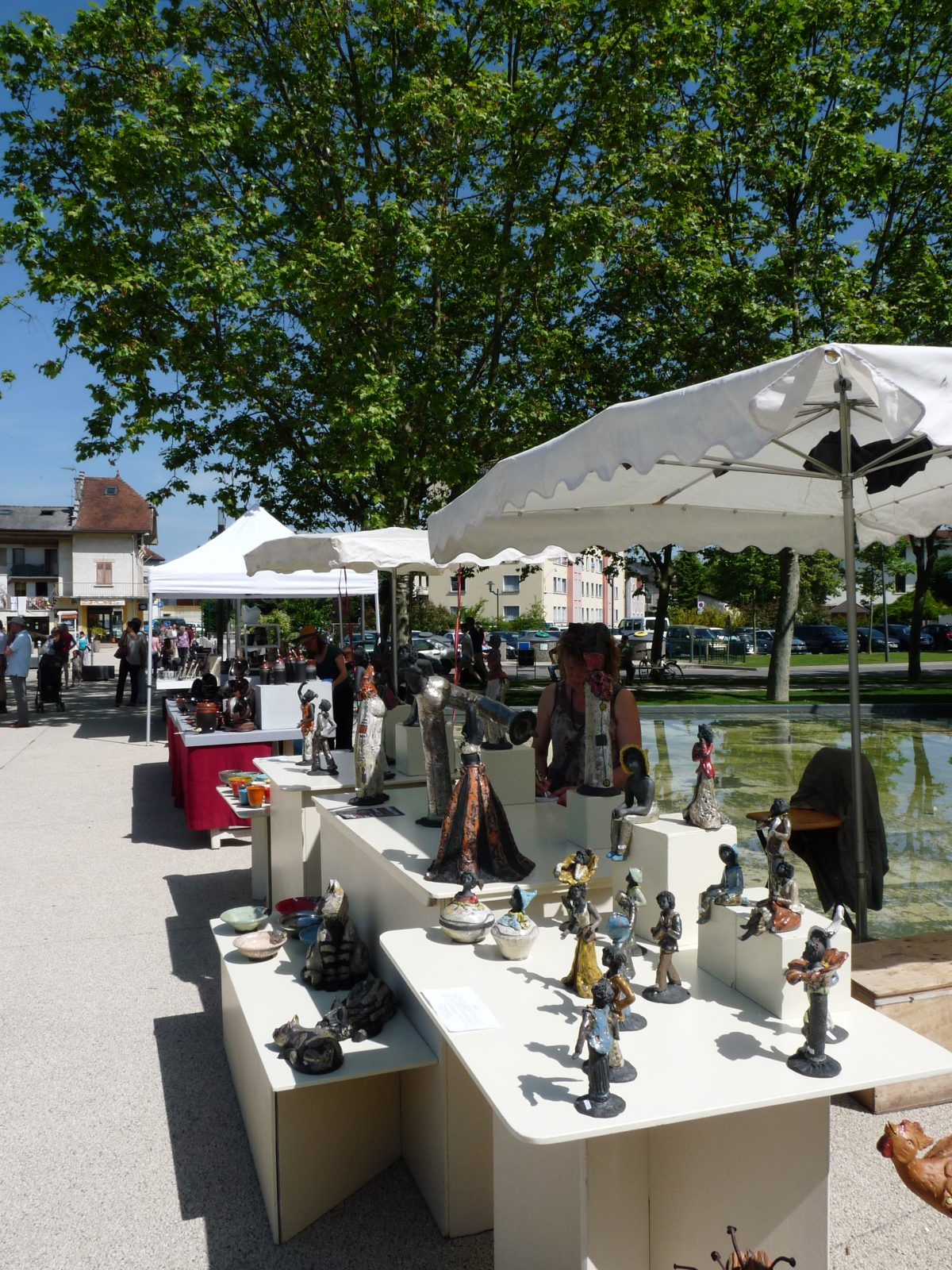 Marché potier Rumilly