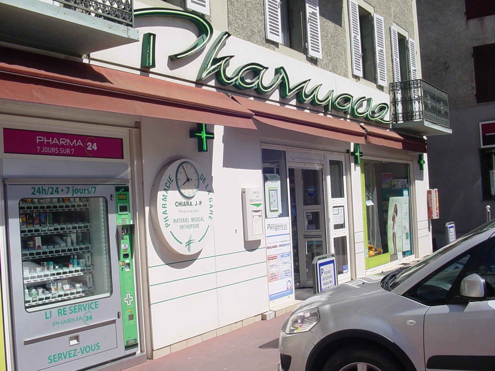 Pharmacie de la gare, Rumilly