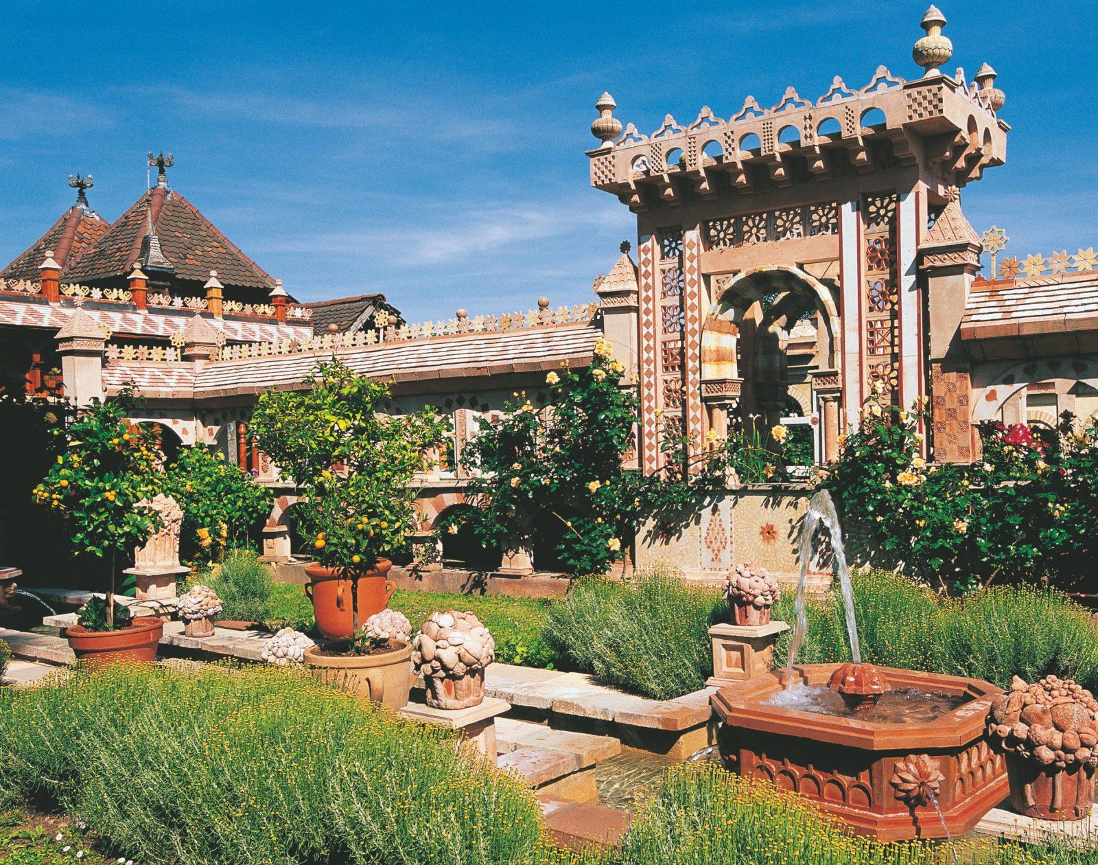 fontaine du jardin andalou