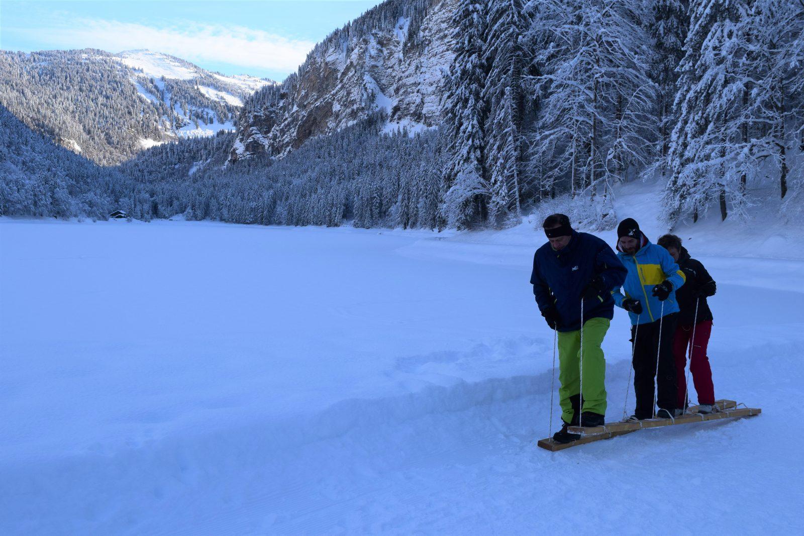 Team bulding hiver